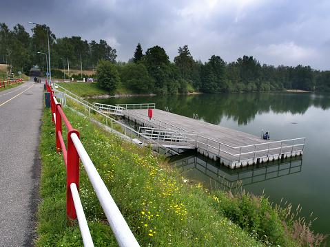 istock Mseno Lake, Jablonec nad Nisou, Czech Republic 626401920