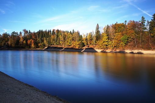 istock Mseno water reservoir in autumn 519267544