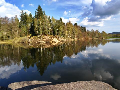 istock Mseno water reservoir, Jablonec nad Nisou 534502890