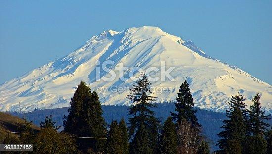 Southern Washington's Cascade Range.