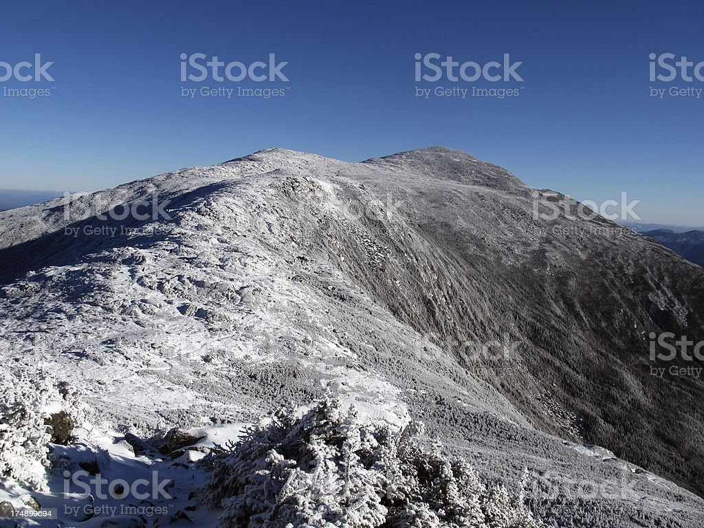 Mt Adams, NH, in the Fall royalty-free stock photo