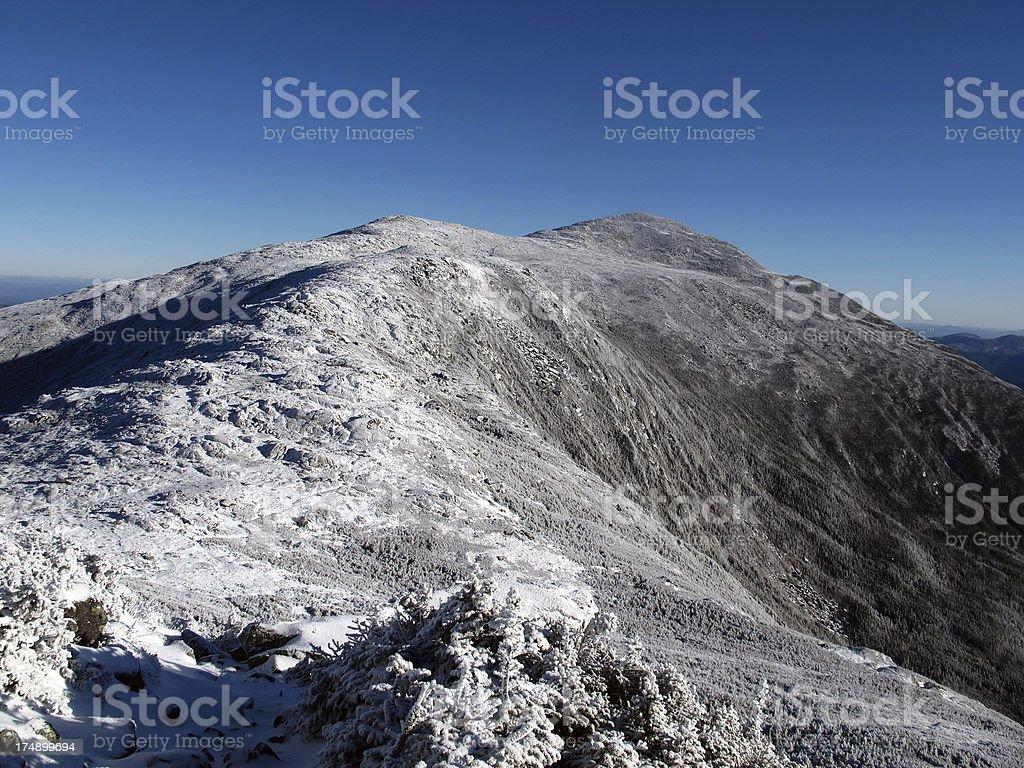 Mt Adams, NH, in the Fall stock photo