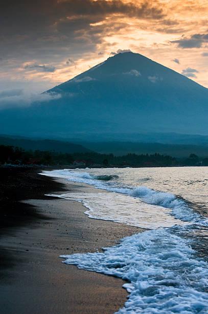 Mt. Agung, Bali. stock photo