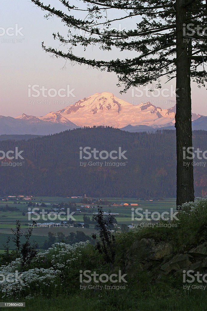 Mt Baker royalty-free stock photo