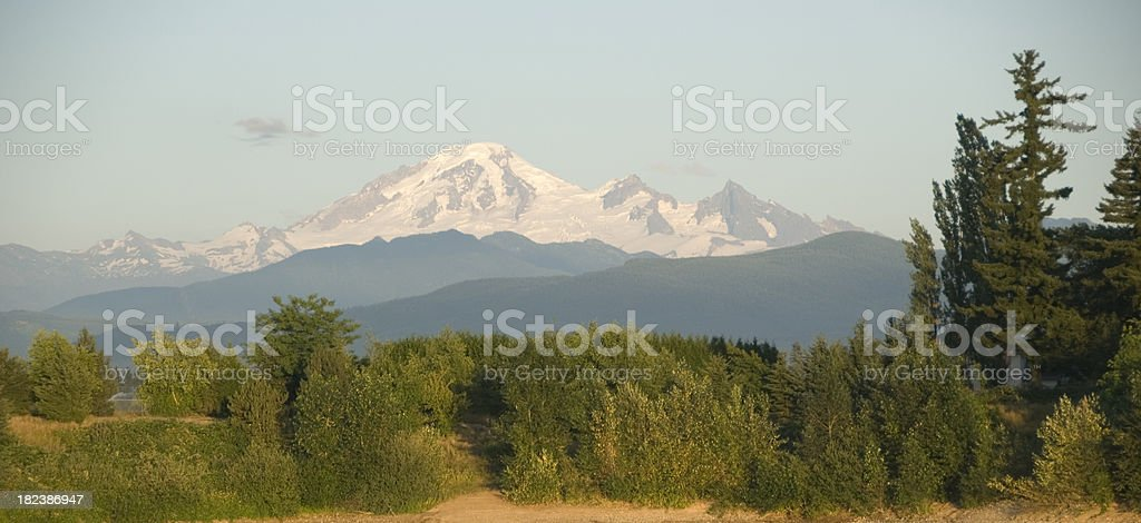 Mt Baker stock photo