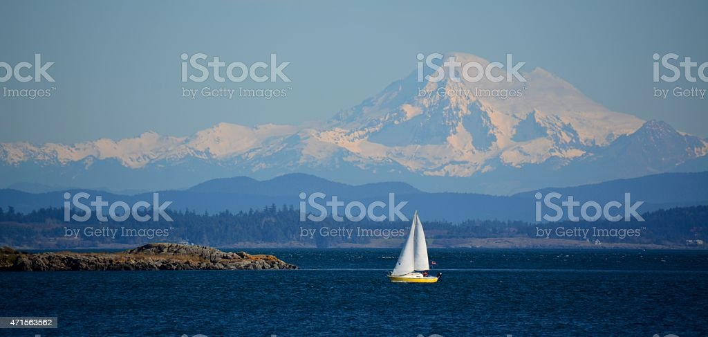 Mt. Baker royalty-free stock photo