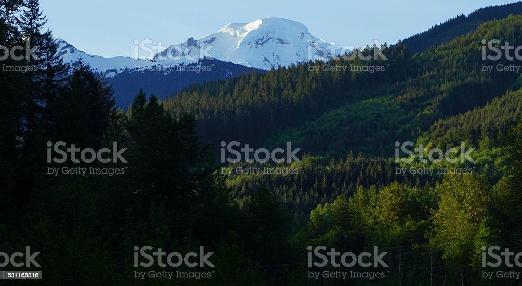 Mt. Baker Rise stock photo