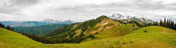 Mt. Baker, Washington. - foto de acervo