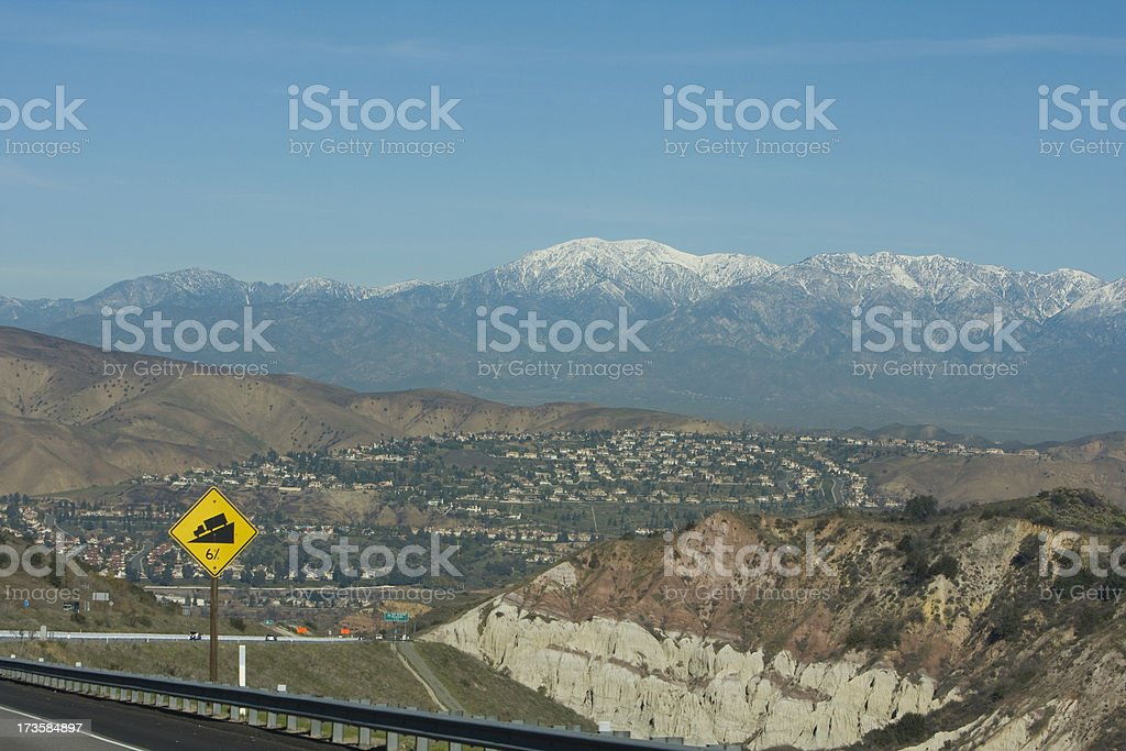 Mt Baldy stock photo