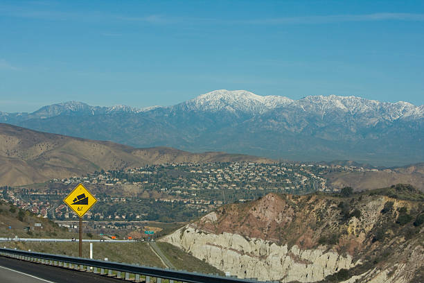Mt Baldy A scenic view of Mt. Baldy in Southern California. mount baldy stock pictures, royalty-free photos & images