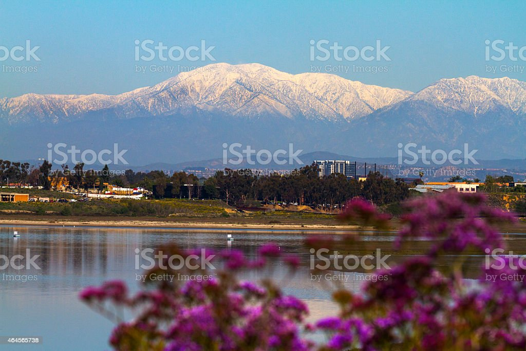 Mt. Baldy stock photo