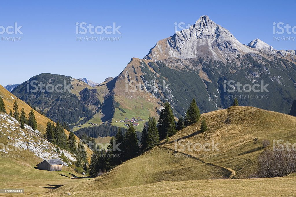 mt. biberkopf stock photo