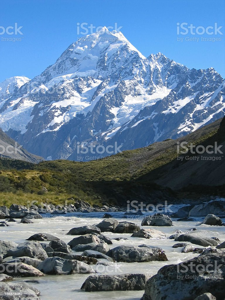Mt. Cook royalty-free stock photo