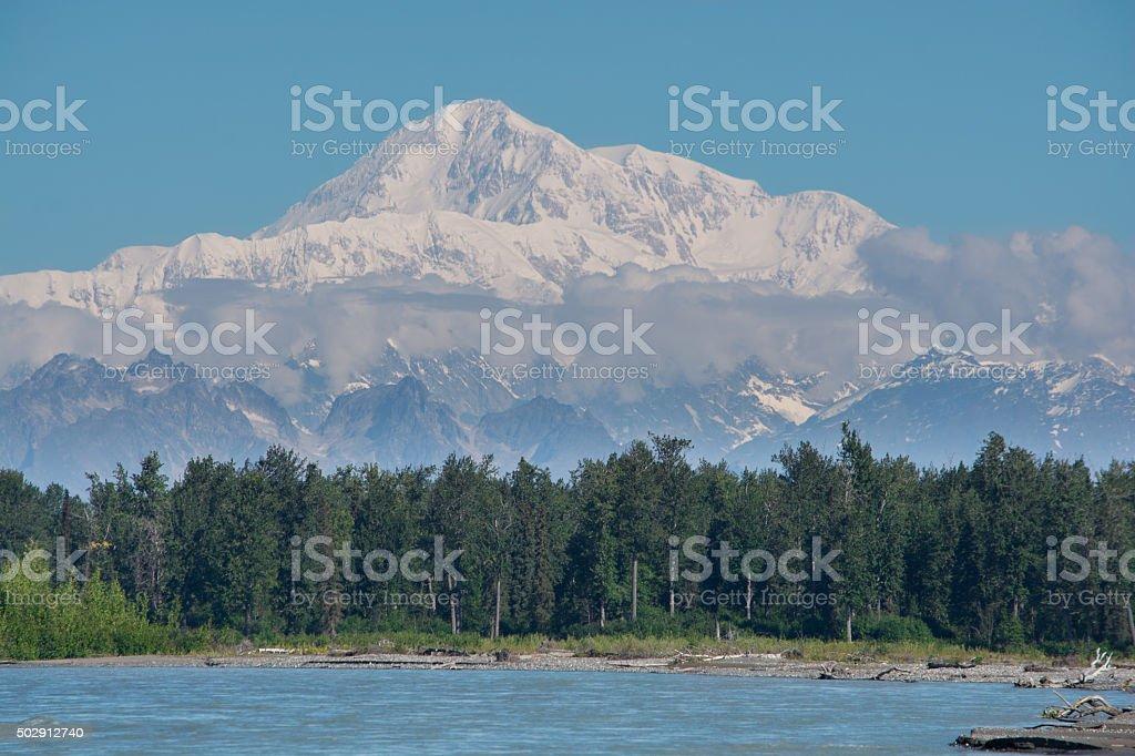 Mt Denali / McKinley stock photo