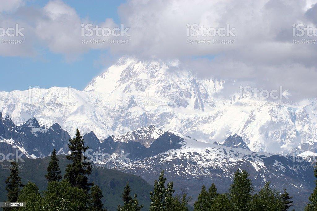 Mt. Denali (McKinley) stock photo