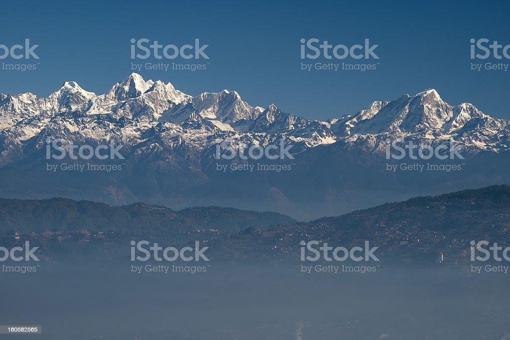 Mt. Dorje Lhakpa stock photo