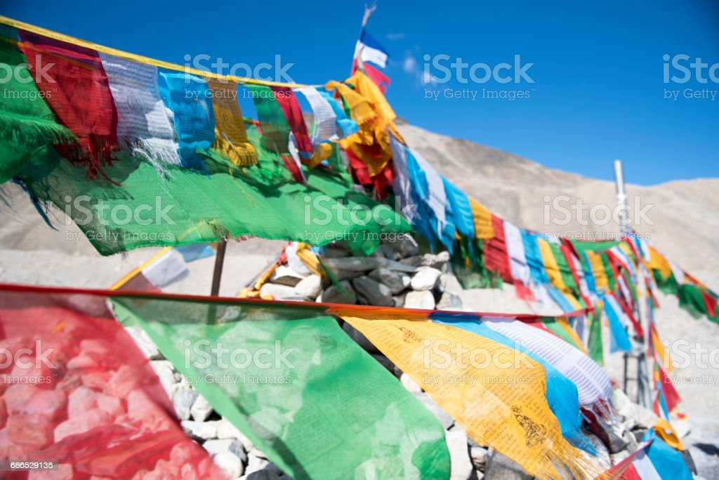 Mt. Everest Base Camp foto stock royalty-free