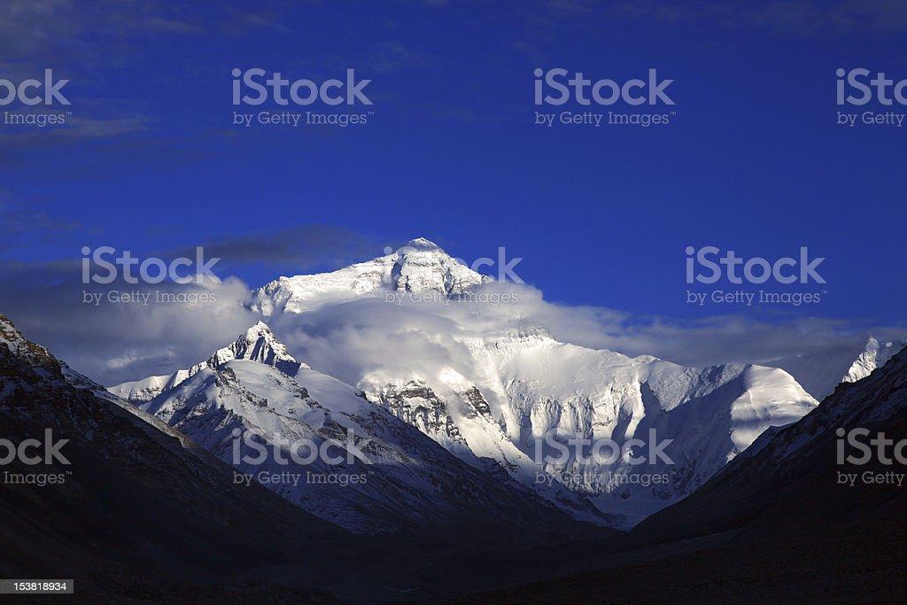 Mt. Everest royalty-free stock photo