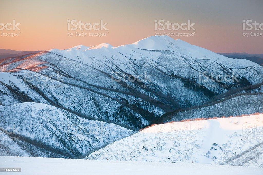 Mt Feathertop stock photo