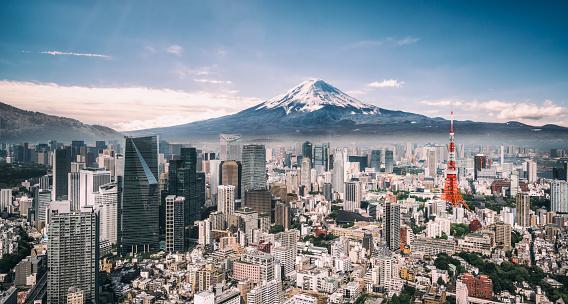 Mt. Fuji and Tokyo Skyline