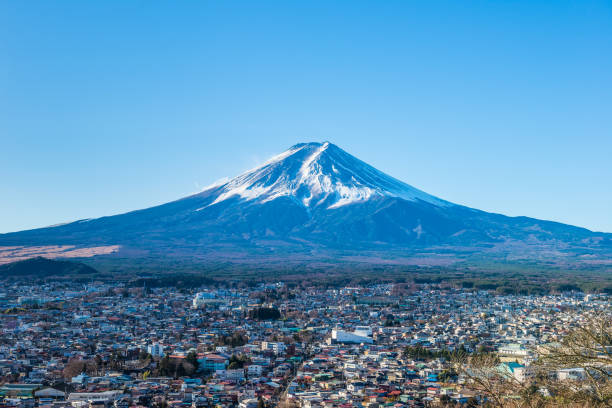 Mt. Fuji in japan – Foto