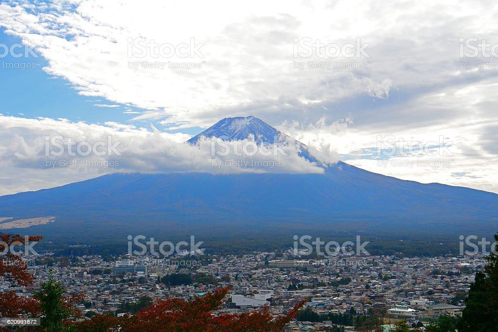 Mt. Fuji, Japan stock photo