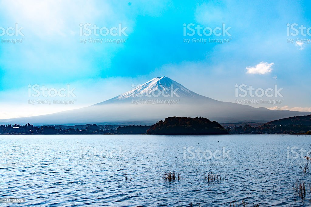 Mt Fuji, Japan stock photo