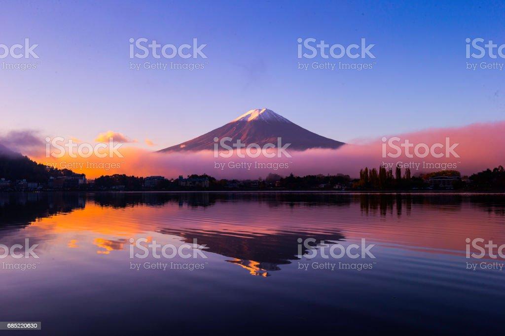 MT Fuji Japan bildbanksfoto