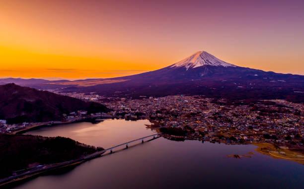 Mt Fuji Japan stock photo