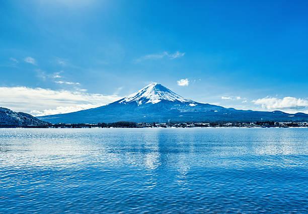 Mt. Fuji World Heritage Mount Fuji lake kawaguchi stock pictures, royalty-free photos & images