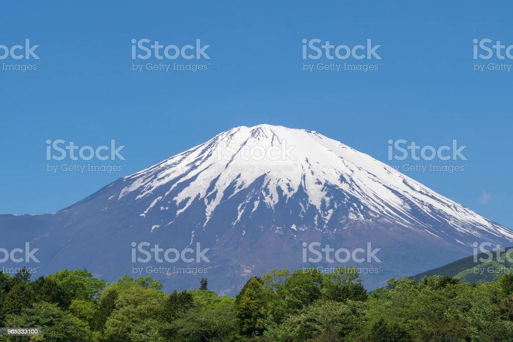 Mt. Fuji zbiór zdjęć royalty-free