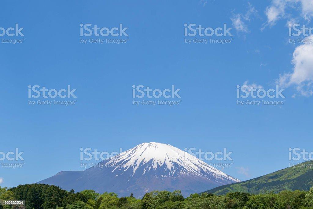 Mt. Fuji royalty-free stock photo