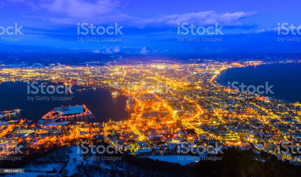 函館山 - アジア大陸のロイヤリティフリーストックフォト