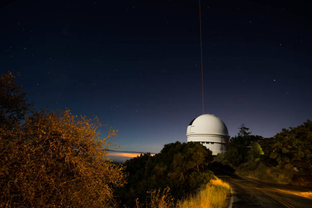 Mt Hamilton Observatory stock photo