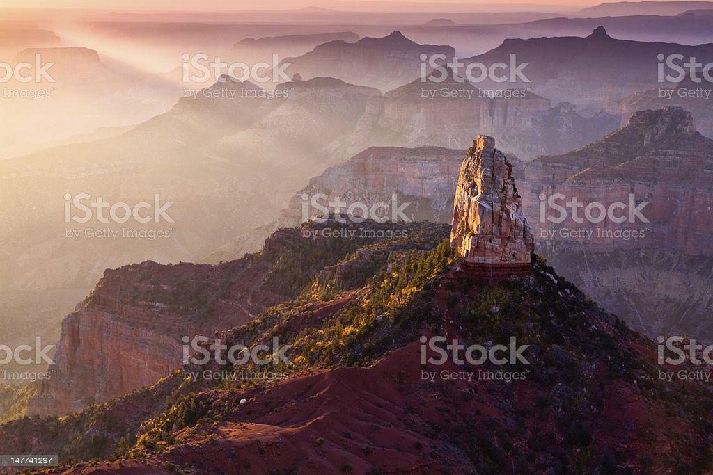 Mt Hayden Dawn - Royalty-free Arizona Stock Photo