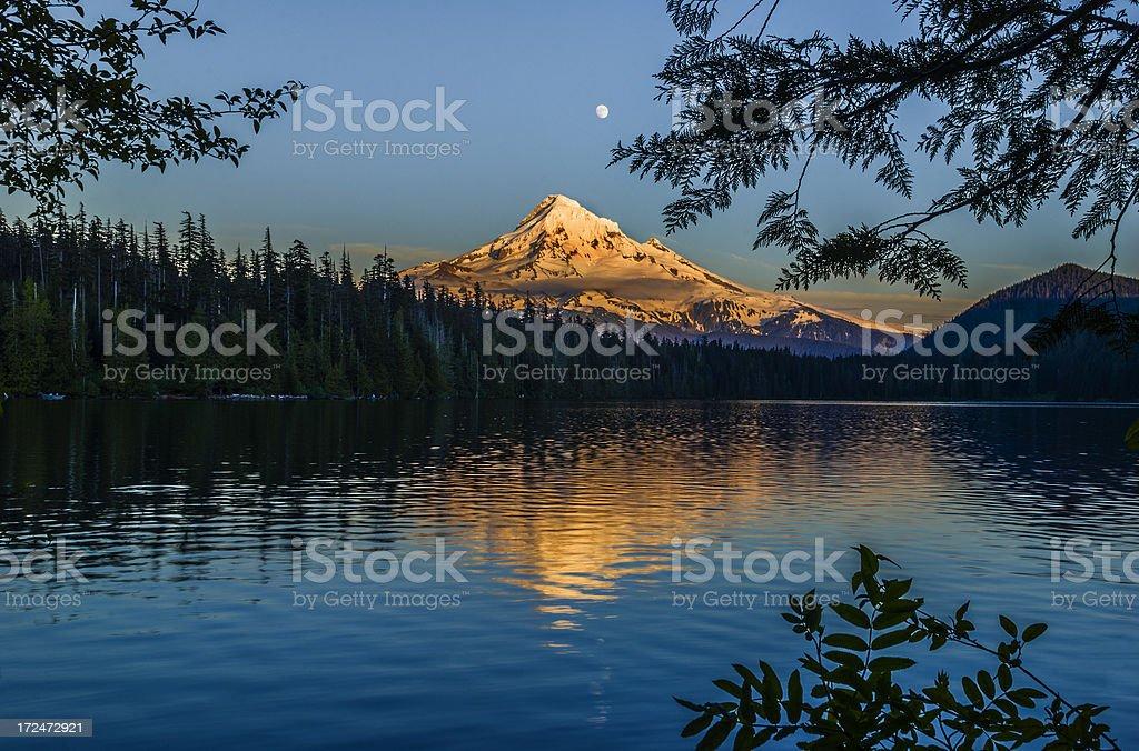 Mt Hood royalty-free stock photo