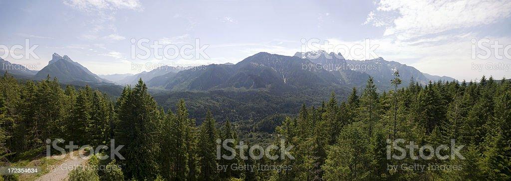 Monte índice y Skykomish valley foto de stock libre de derechos