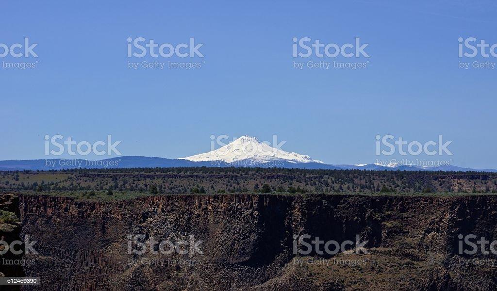 Mt. Jefferson East stock photo