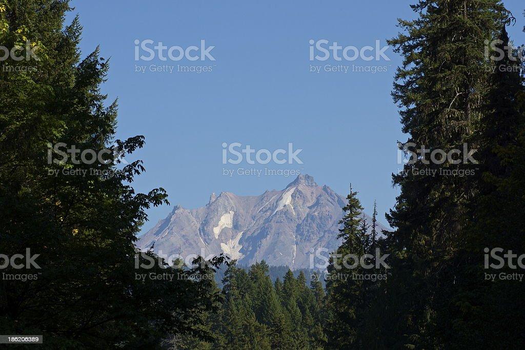 Mt. Jefferson Granite stock photo