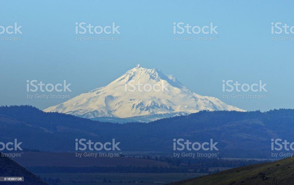 Mt. Jefferson Northeast stock photo