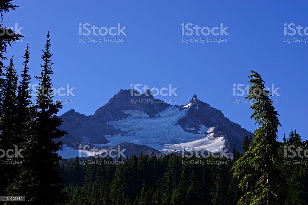 Mt. Jefferson stock photo