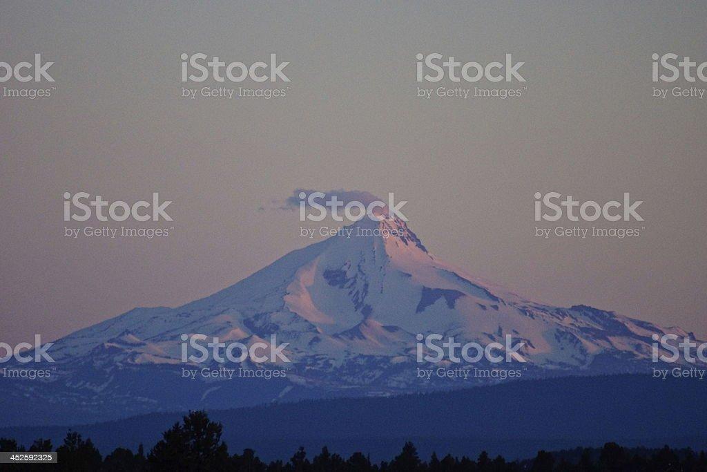 Mt. Jefferson Volcano stock photo