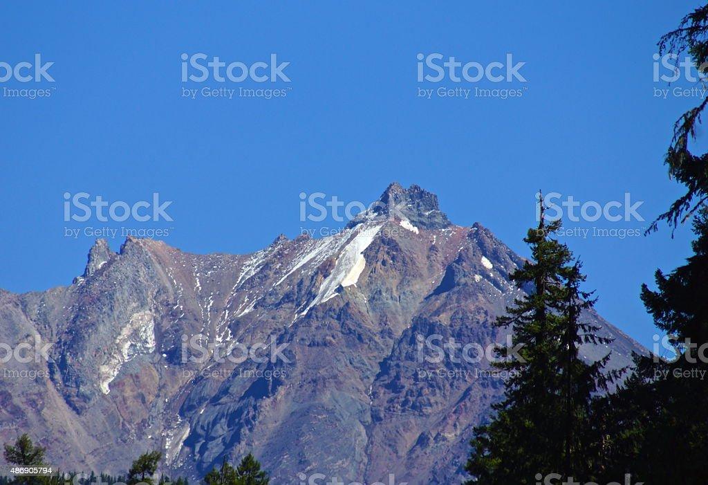 Mt. Jefferson Wall stock photo