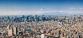 istock mt jufi and Tokyo skyline, Japan 1211408458