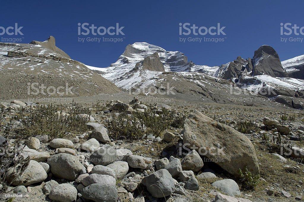 Mt Kailash stock photo