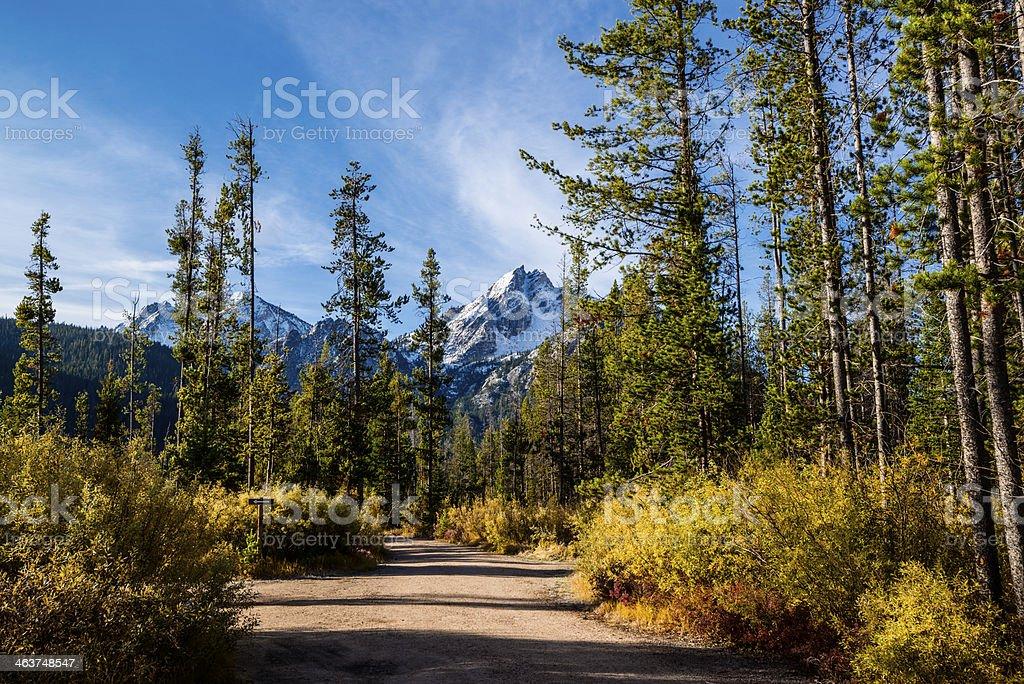 Mt McGowan, Stanley, Idaho royalty-free stock photo