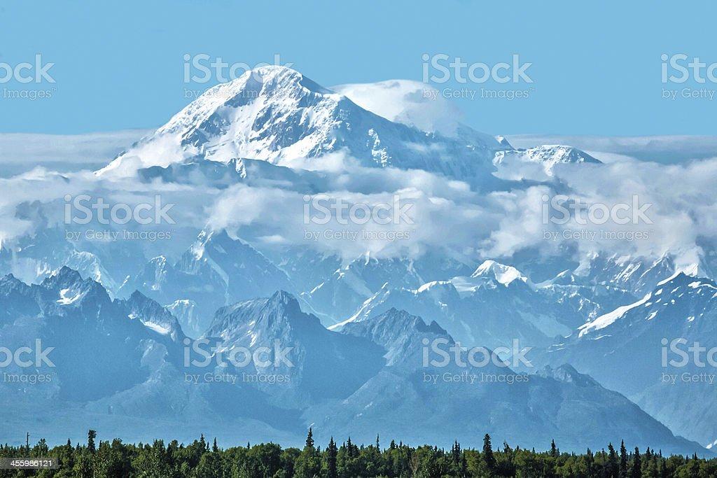 Mt McKinley Alaska stock photo