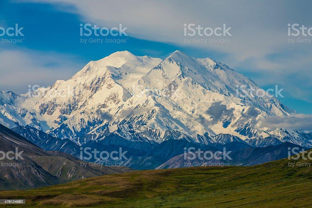 Mt. Mckinley, Denali National Park,Alaska stock photo