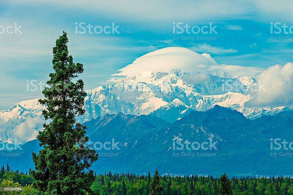 Mt McKinley stock photo