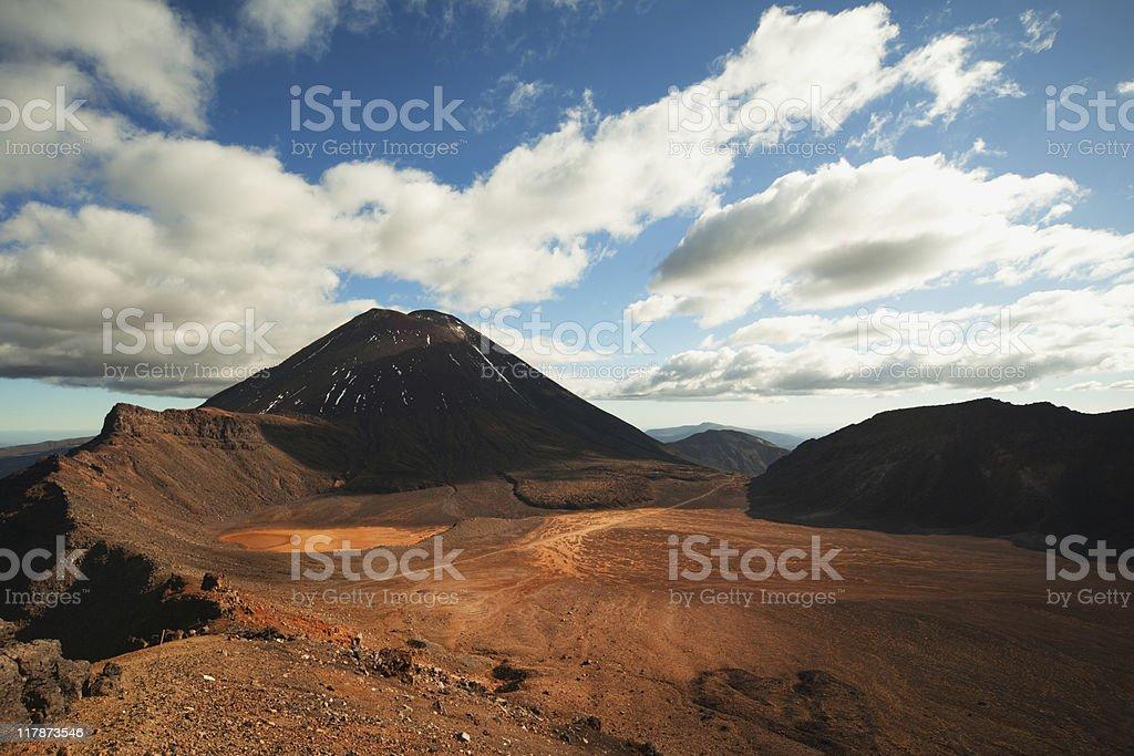 Mt Ngauruhoe royalty-free stock photo